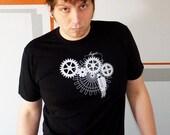 Logic Trap Men's Tshirt - Steampunk Tshirt, Engineer T Shirt, Computer Programmer Gifts