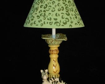 Safari Zebra Lamp - Kid's Lighting