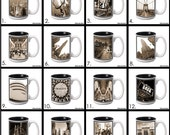 15 oz. Ceramic Coffee Mug with Original New York City Photography - 16 images to choose from.