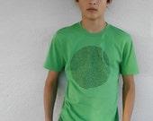 Green Animal Collective Nouns Mens tshirt, gift for dad, gift for him, cool mens shirt, animal lover gift, husband gift, gift for teen
