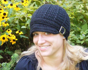 Womens Chemo Hat Womens Hat Womens Silk Hat Womens Bamboo Hat Crochet Lightweight Hat Buckle Beanie Black Womens Hat Soft Chemo Hat Silky