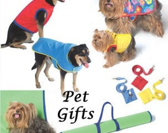 DOG LEASH Sewing Pattern - Dogs Pets Leashes Coats Vests Pet Gifts