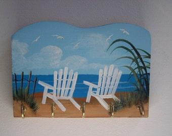 Beach Chair Key Rack- Key Holder