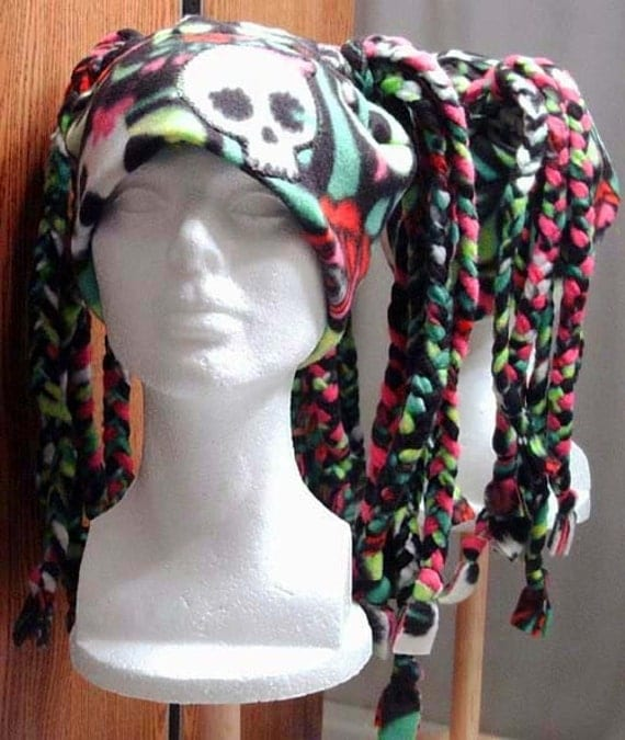 Dreadlocks Fleece Hat PDF Tutorial