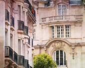 Paris Photography, Parisian Apartment, French Wall Decor, Architectural Fine Art Travel Photograph