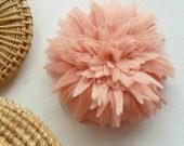 Fabric Flower Tutorial & Headband Spring Trendy  - PDF epattern - make hair bands, bridal flower garter - INSTANT download