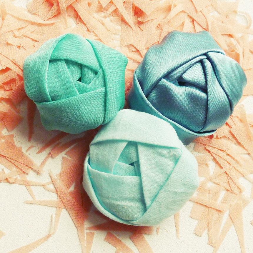 Fabric Flower Tutorial Rosettes Soft Roses Sewing
