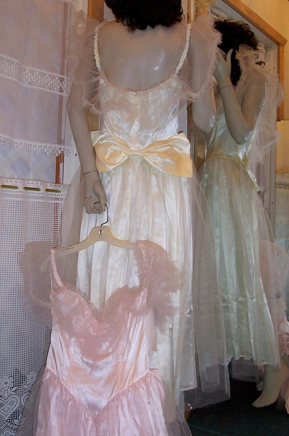 Vintage Gunne Sax Jessica Mcclintock Tulle Gowns By