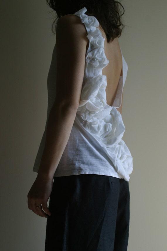 Linen Top by NervousWardrobe on Etsy