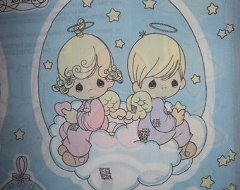 Precious Moments 8 Baby Mobiles or Applique Panels Fabric Gift Ideas for sewing quilting home decor and more