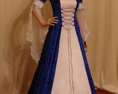 medieval dress, handfasting dress, renaissance dress, elven dress, custom made