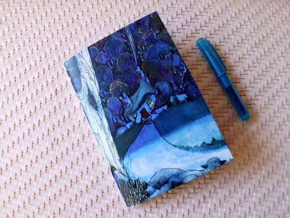 Mini Notebook, Pocket Journal, Diary, Planner, Hansel and Gretel Journal
