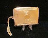 1920's Compact Purse Vintage Mavis Vivaudou Compact Gold Compact Powder Compact Rouge Compact RARE