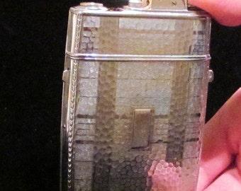 Evans Case Lighter Trig-A-Lite Vintage Case Lighter 1940's Cigarette Case Art Deco Case Lighter WORKING CASE LIGHTER
