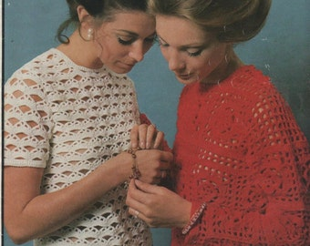 Retro 70's Crochet Designs for Women