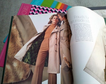 Vintage 70s The Art of Sewing Time Life Reference Books - LOT of 5 - Great Gift for the Retro 70s Fashion Lover in Your Life