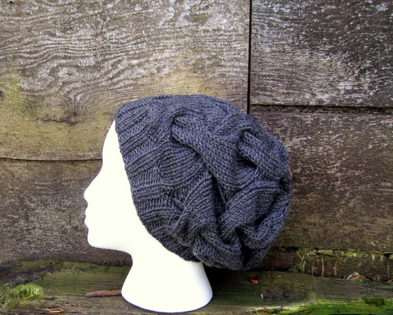 Tangled Slouch in Oxford Grey - Ready to Ship