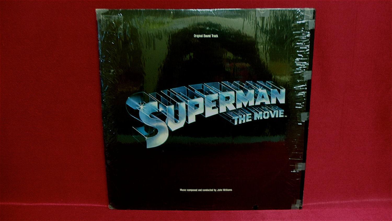 Superman The Movie Original Soundtrack 1978 Vintage Vinyl