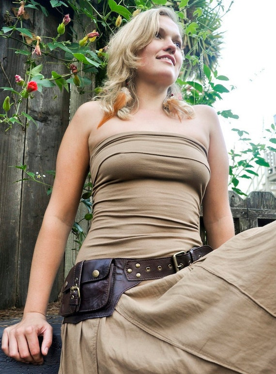 Utility Leather Belt  for your on the go needs - LUMI