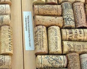 Earth Day, upcycled cork trivet or memo board with wine quotes, upcycled wine corks, gift for wine lovers, hostess, wedding, kitchen shower