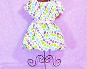 Girls Spring BUBBLE DRESS m2m hairbow Size 6mo to 4T  Easter Boutique Spring Summer Clothes