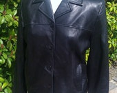 Leather Jacket /Black Blazer