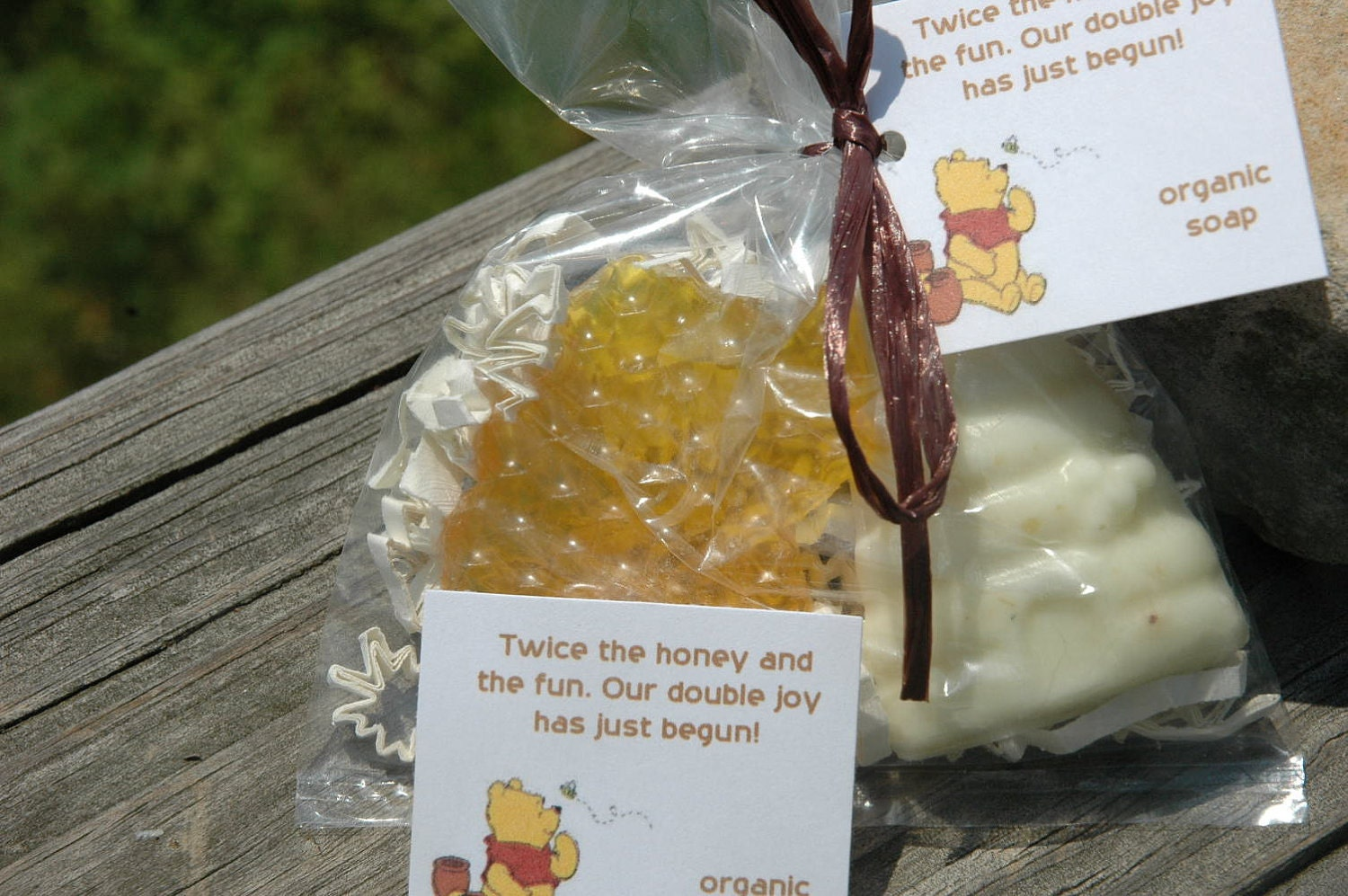 pooh twin storybook theme baby shower party favors organic