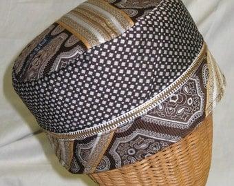 Retro - Unique Necktie Hat from Reclaimed ties