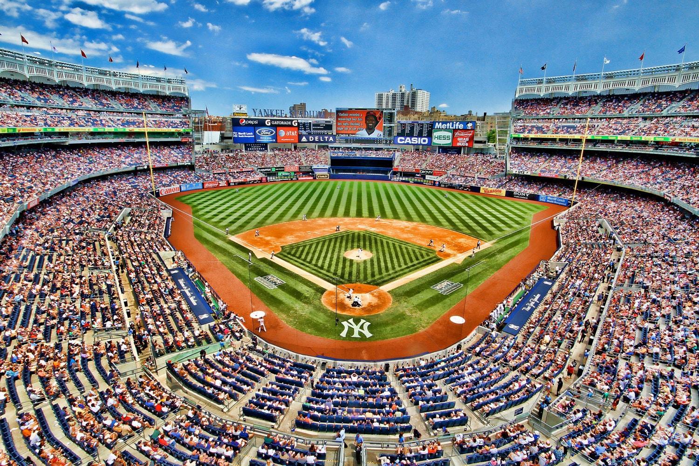 Madison Square Garden: Yankee Stadium Sports Photography New York City Color