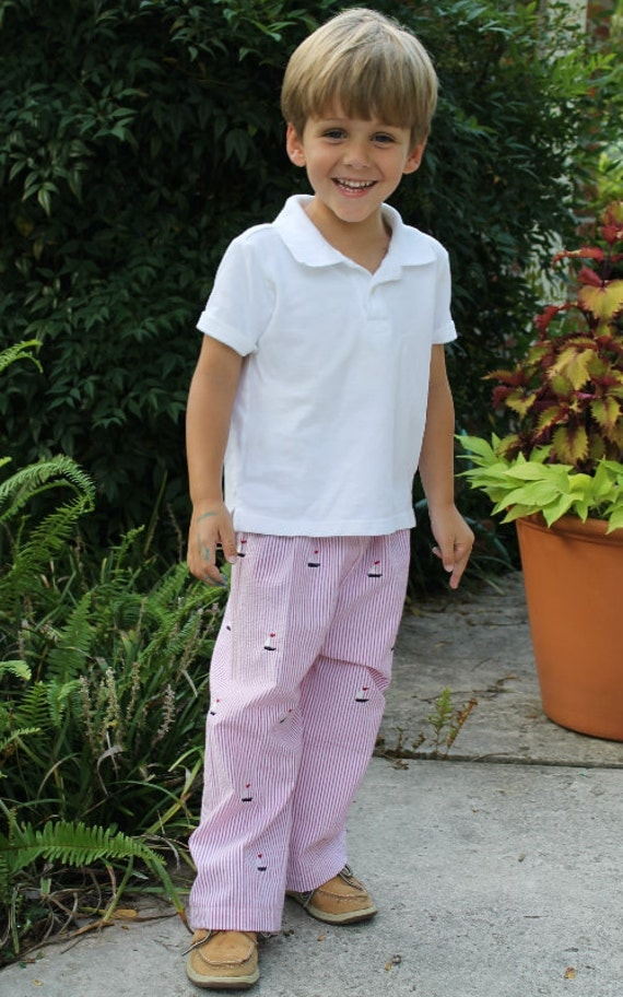 Boys Classic Fit Pants sewing patterns, sewing pattern, - sizes 3 months - 8 years, pant tutorial, PDF sewing PATTERN, how to sew