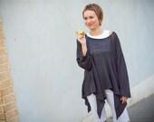 Tunic step-by-step Knitting Book - Knitting course - Manual knitting machine
