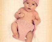 Baby Bear Hat, Newborn Bear Hat, Newborn Photo Prop Hat, Hand Knit Hat, Crochet Hat, Baby Gift