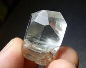 Colorado Topaz Crystal Specimen 166ct Euhedral crystal Facet and Display Grade Mineral Tarryall CO Bluish Color Hue DanPickedMinerals