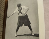 1922 Basket Ball and Indoor Baseball for Women Book