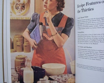 1973 1st Edition Better Homes and Gardens Golden Treasury of Cooking  book  1st printing