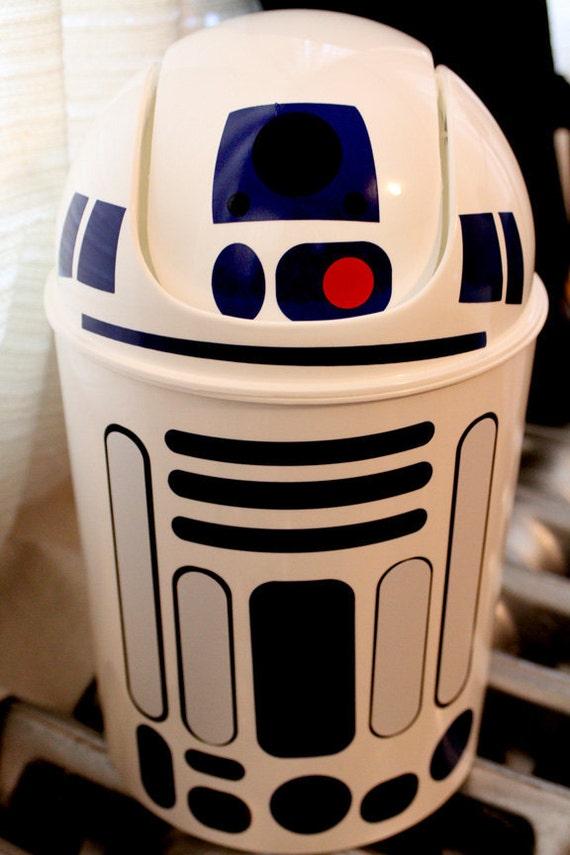 R2D2 wastebasket star wars read description before buying