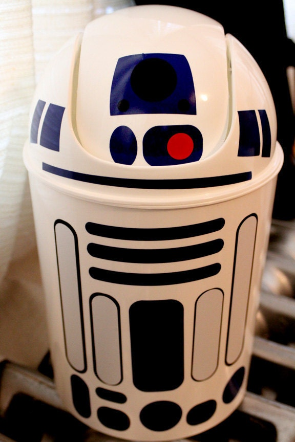 R2d2 wastebasket star wars read description before buying - Cool wastebaskets ...