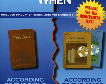 What Your Child Needs to Know When: Guide for Christian Homeschooling, Instant Download