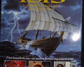 Vintage Book - The Lost Wreck of the ISIS by Robert D. Ballard - Time Quest Book - Hardcover with Cover 1990