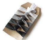 Shades of Grey - Gift Set of 5 Perfect Hair Ties
