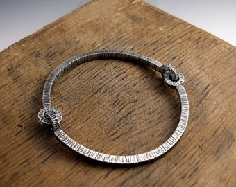 bhuj flexibangle bracelet sterling silver