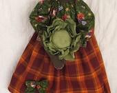 E pattern Primitive Black Nanny Doll Pattern American Folk Art cabbage Raggedy Rhondas FAAP Team