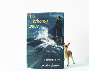Vintage Romance Novel / Mid Century Romance / Illustrated Dustjacket / 1960s Romance