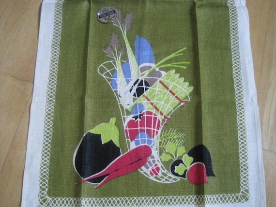 EAMES Vintage Towel Mid Century Prints Charming MWT