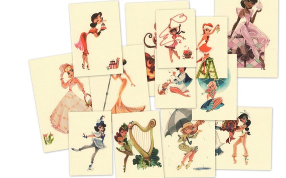 8 x 10 Prints of Any Card Design in My Shop