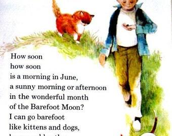 Vintage Book Elementary School Reader Meadow Green Childrens 1966
