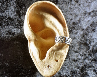 Sterling Silver Celtic Knot Earcuff