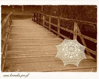 Rustic Wedding Umbrella- Victorian Umbrella- Wedding Umbrella- Wedding Prop- Gift For Bride To Be- Bridal Shower Gift- Lace Umbrella