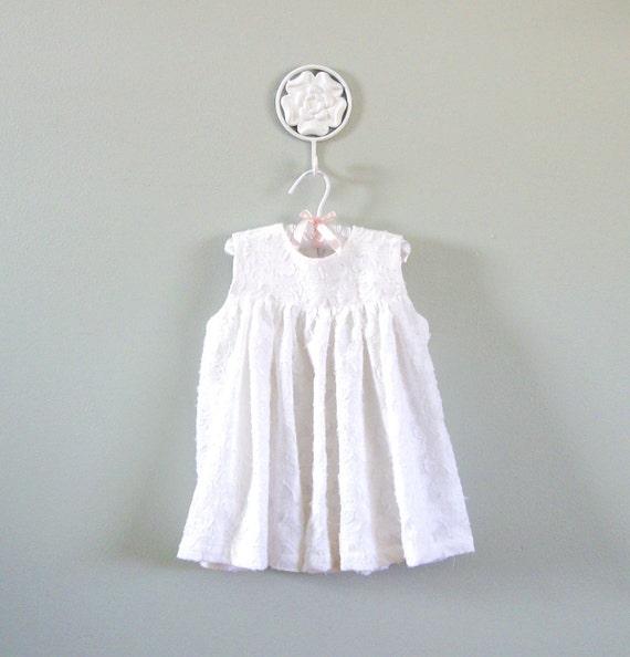 Girls Spring White 3T Dress
