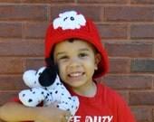 Crochet Pattern PDF - Helmet / Hat - Adventure to the Rescue - Firefighter Helmet Hard Hat Safari Hat - Newborn Toddler Child Sizes - Prop